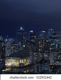 Night Skyline of Toronto, Ontario, Canada.