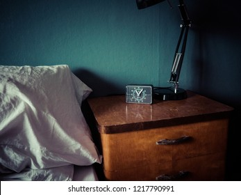 Night stand with watch