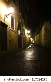Night Street in the Old Town