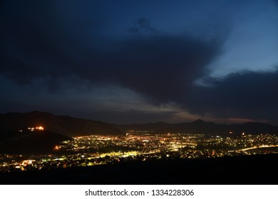 Night time lapse of Trebinje