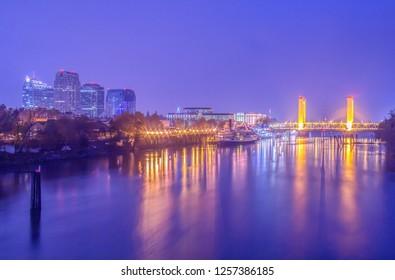 Night Time in Sacramento