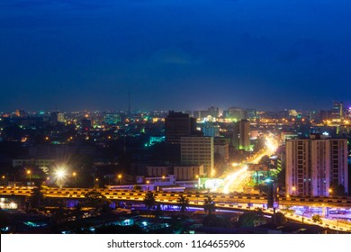 Night Time View of Ikoyi, Lagos