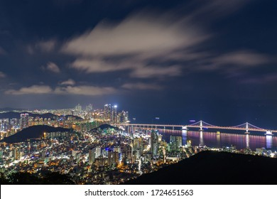 night view in Busan, South Korea