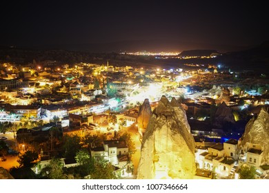 night view of Cappadocia