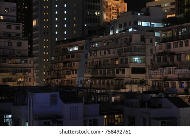 Night View of Causeway Bay, Hong Kong