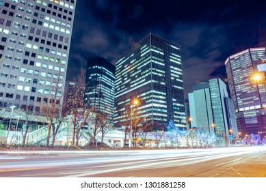 Night view and cityscape
