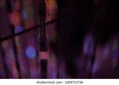 Night view illumination at Tokyo