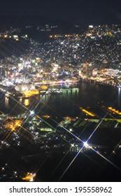 Night view of Japan