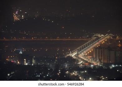 night view, korea, seoul, namsan