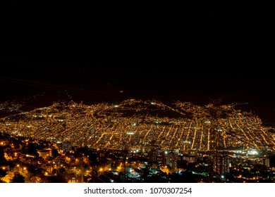 Night view, Medellin, Colombia