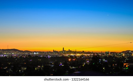 night view on San Francisco