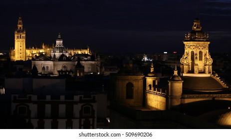 Night  View of Sevilla, Spain