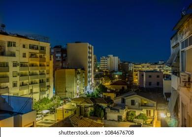 Night View of Tiran