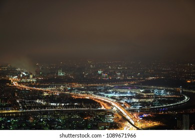 Night views of Moscow
