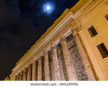 Night visit to the imperial forums. Rome