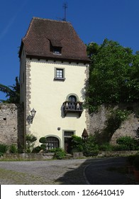 The night watchman tower in Sulzfeld / Franconia