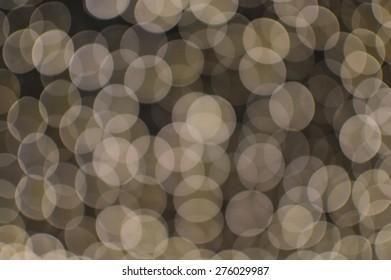 night white light bokeh
