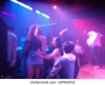 nightclub blur background