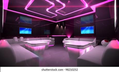 Nightclub Interior Images, Stock Photos & Vectors   Shutterstock
