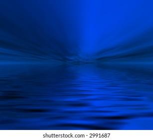 Nights ocean