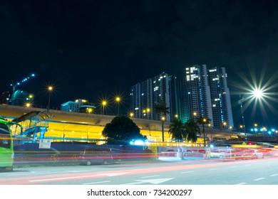 Nightscape at Johor Bahru