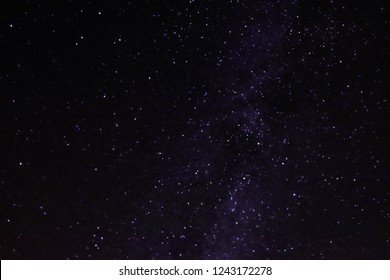 A NightSky with Thousands stars, and the Milky Way