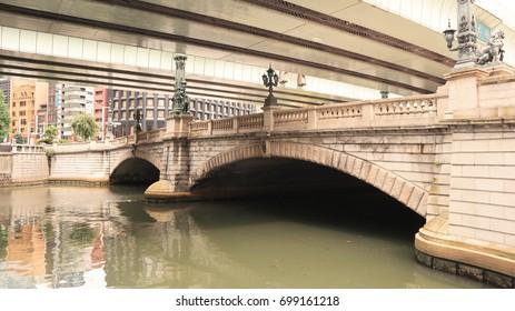 Nihonbashi Bridge at Otemachi, Tokyo, Japan