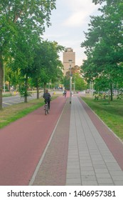 Nijmegen, Gelderland May 25 2019 The Dutch University from Nijmegen, the Netherlands