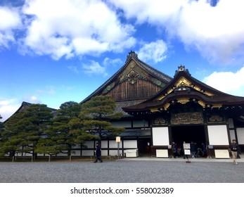 Nijo castle kyoto japan, Ninomaru palace