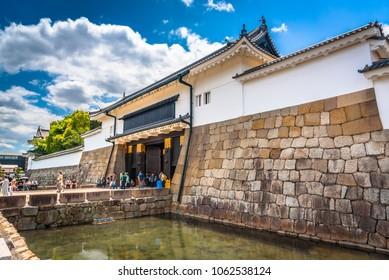 Nijo-jo Castle in Kyoto, Japan