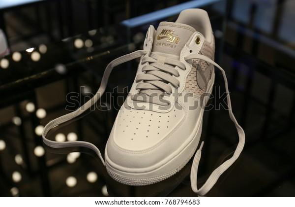 scarpe eleganti vendita professionale vendita all'ingrosso Nike Air Force Store Ukraine Kiev Stock Photo (Edit Now) 768794683