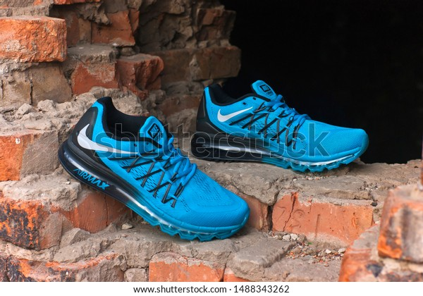 Nike Air Max 2015 Running Shoes Stock Photo (Edit Now