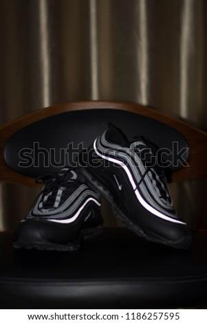 size 40 57b7f 58ccc Nike Air Max 97 Black Siver Light Reflective