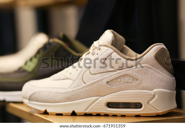 Nike Air Max Shoes Ukraine Kiev Stock Photo (Edit Now) 671951359