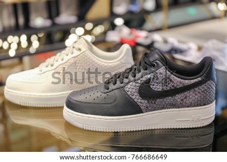 7ae4c423 Nike Air Shoes Ukraine Kiev August Stock Photo (Edit Now) 766686649 ...