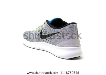 Nike Free Rn 2017 Free Running Stock Photo (Edit Now) 1118780546 ... c3925fc4062c