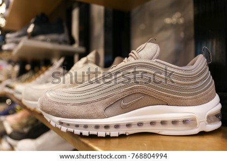reputable site 2d22d bd20b Nike shoes Air Max 97 - Ukraine, Kiev - august 23, 2017