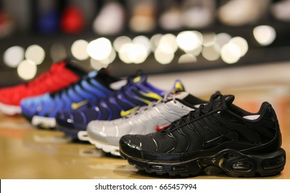 Nike Shoes Ukraine Kiev June 20 Stock Photo (Edit Now