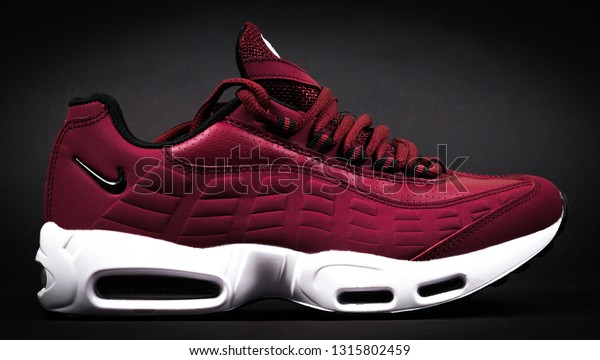 chaussures de sport 00779 97563 Nike Shoes Model Air Max 95 Stock Photo (Edit Now) 1315802459