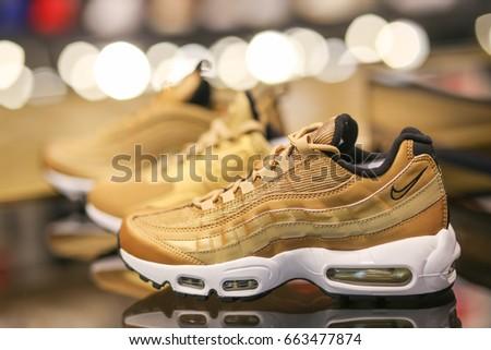 8f9dede7 Nike Shoes Ukraine Kiev June 20 Stock Photo (Edit Now) 663477874 ...