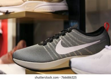 Nike sneakers - Ukraine, Kiev - august 23, 2017