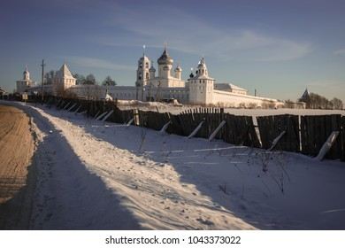 Nikitsky Monastery in Pereslavl Zalessky in the Yaroslavl Region in Russia