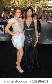 """Nikki Reed and Tinsel Korey at """"The Twilight Saga: Eclipse"""" Los Angeles Premiere, L.A. Live, Los Angeles, CA. 06-24-10"""