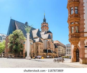 Nikolaikirch St Nicholas Church in Leipzig, Germany