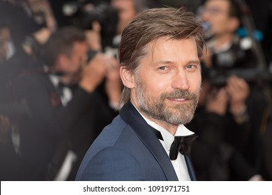 Nikolaj Coster-Waldau attends the screening of 'Sink Or Swim (Le Grand Bain)' during the 71st annual Cannes Film Festival at Palais des Festivals on May 13, 2018 in Cannes, France.