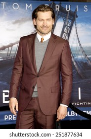"""Nikolaj Coster-Waldau at the """"Oblivion"""" Los Angeles Premiere at the Dolby Theater on April 10, 2013 in Hollywood, California."""