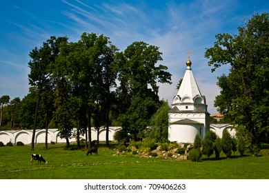 Nikolo-Ugreshsky Monastery is Russian Orthodox monastery of St. Nicholas the Miracle-Worker/ Temple-chapel of the Passion of the Lord/ Dzerzhinskiy city/ Moscow region/ Russia.