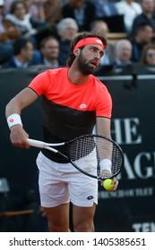 Nikoloz Basilashvili (GEO) during the Open Parc Auvergne-Rhone-Alpes Lyon 2019, ATP 250 Tennis tournament on May 22, 2019 at Parc de la Tete d'Or in Lyon, France