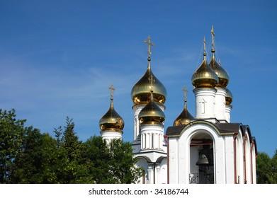 Nikolsky monastery in Pereslavl, Russia, Yaroslavl region