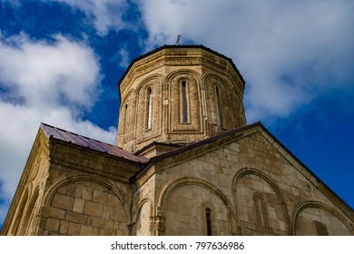 Nikortsminda Cathedral in Racha Georgia